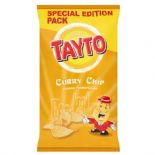 Tayto Curry Chip Crisps 150g